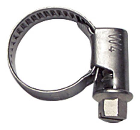 Slangklämma Rostfritt stål, 8-12mm (x9mm)