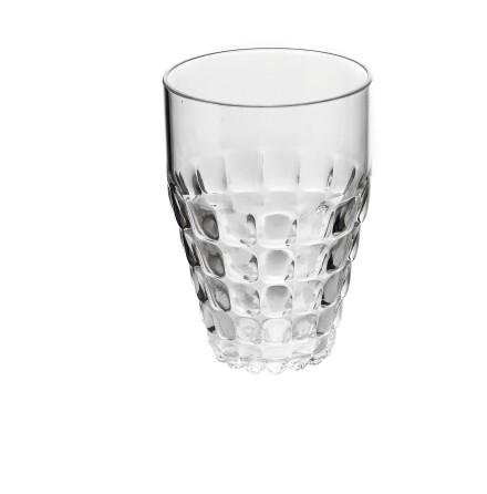 Guzzini Glas L Tiffany, Transparent ø9 x h13 cm