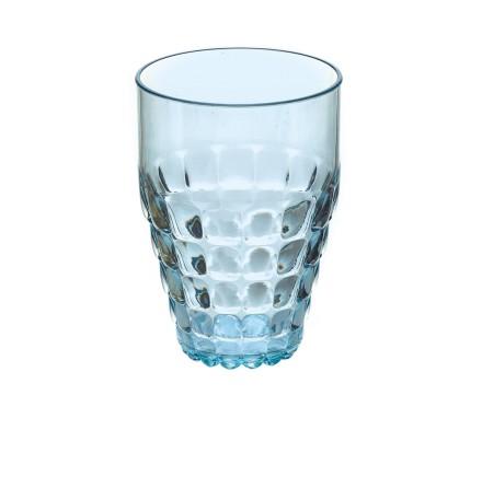 Guzzini Glas L Tiffany, Blå ø9 x h13 cm