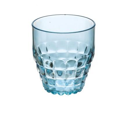 Guzzini Glas S Tiffany, Blå ø8,5 x h9,5 cm