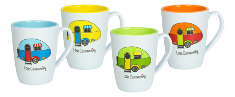 Muggset Love Caravanning 4-pack 35cl