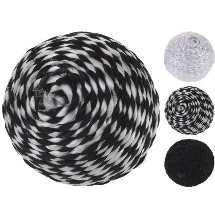 Kattleksak Bollnystan 3st  Black & White