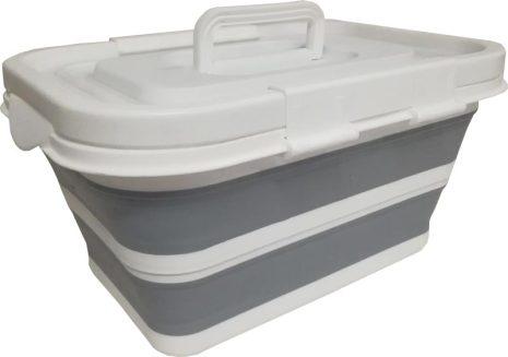 Förvaringsbox m kylväska 30L Fällbar