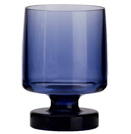 Vinglas Heavy Base Blue 2-Pack