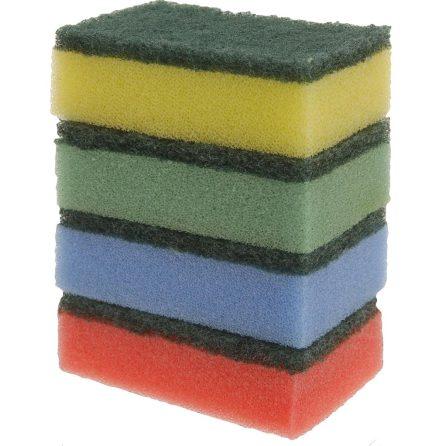 Disksvamp 10-pack 8x2,5x5cm