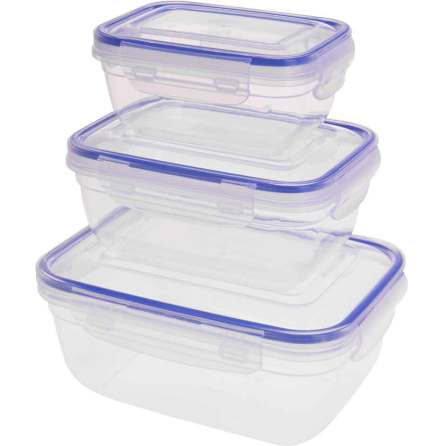 Burkset 3-pack Transparent