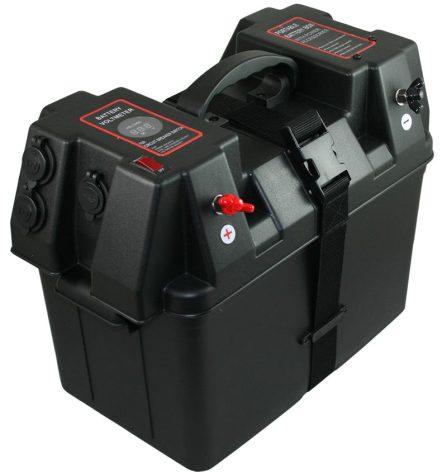 Batteribox inkl, band 425x250x310 Power