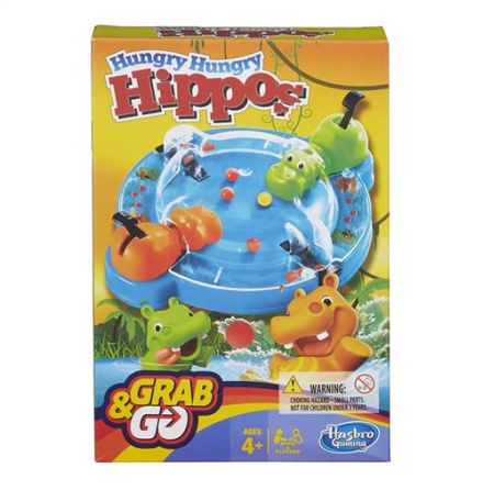 Hungry Hungry Hippo Grab & Go