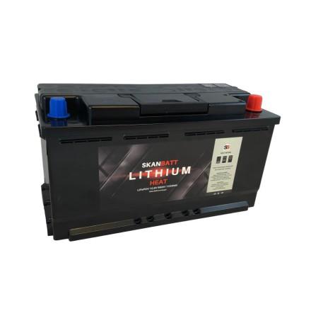 Lithium batteri 12V 96AH 100A BMS HEAT