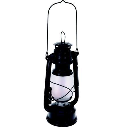 Stormlykta LED fros.t glas flammande ljus